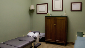 Chiropractic clinic